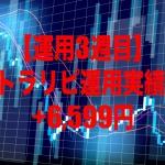 【運用3週目】トラリピの運用実績は+6,599円