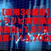【運用36週目】トラリピの実質利益は前週比+1,978円、通算-113,702円