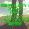 利益率32.89%!2020年のIWM(iシェアーズ ラッセル 2000 ETF)運用実績