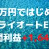 「40万円ではじめるトライオートETF」週間利益+1,641円(2週目)